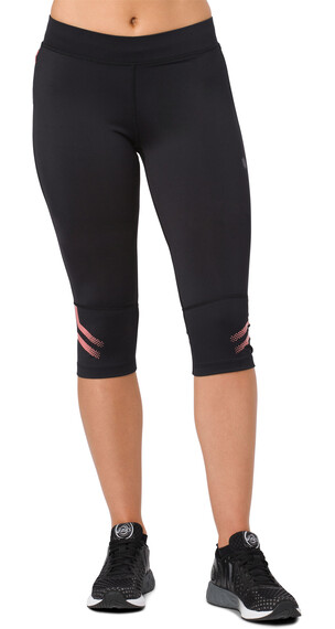 asics Icon Knee Tights Women Performance Black/Coralicious